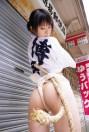 Ushijima sexy fundoshi cosplay forest - 63