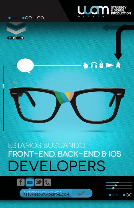 Empleos: Se buscan Developers